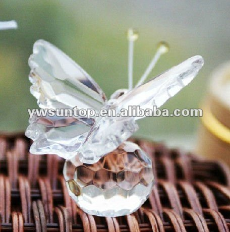 Choice Crystal Butterfly crystal crafts wedding souvenirs festival gifts