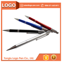 Wholesale high quality metal clip ballpoint pen