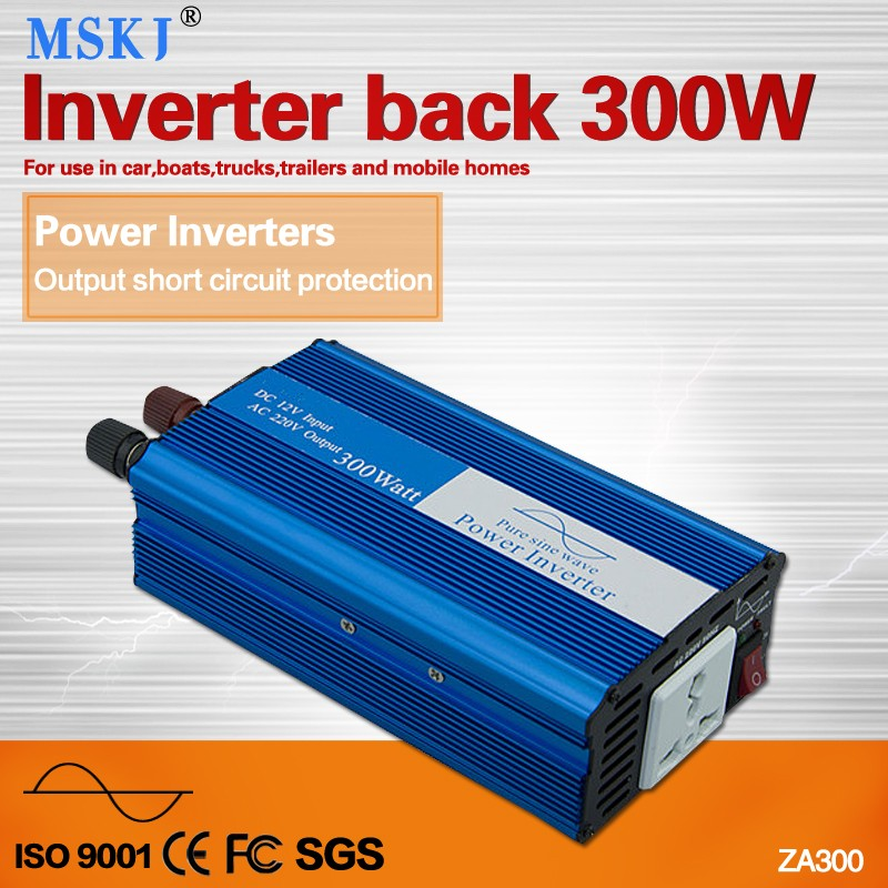 ZA -1500W OEM 12V DC To AC 220V TV Fan 300W Solar Pure Sine Wave Power Inverter Price