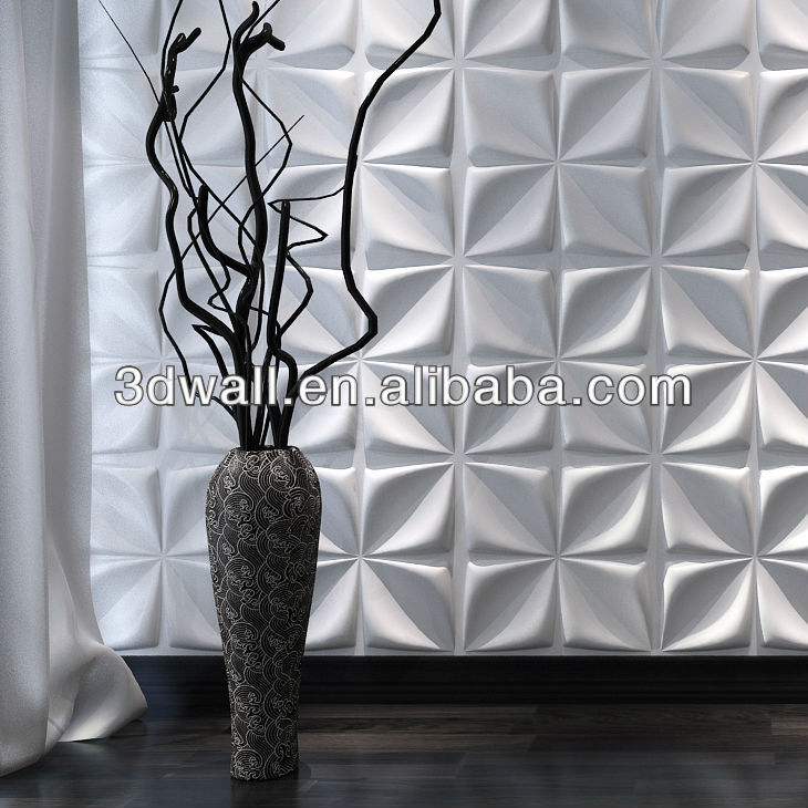 TV background empaistic design 3d wall
