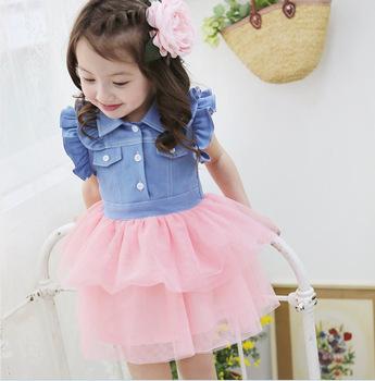 Kids Beautiful Model Dresses Children Ls Models Oem Baby Clothes