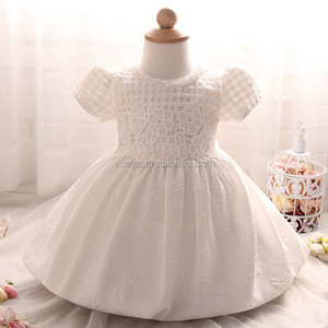 Fashion cute kids frock 100days full moon baby princess dress