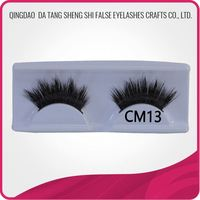 Private lable silky hair extensions 100% luxury natural mink hair false eyelashes wholesale siberian mink 3d
