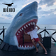 Life size artificial realistic animatronic shark for sale