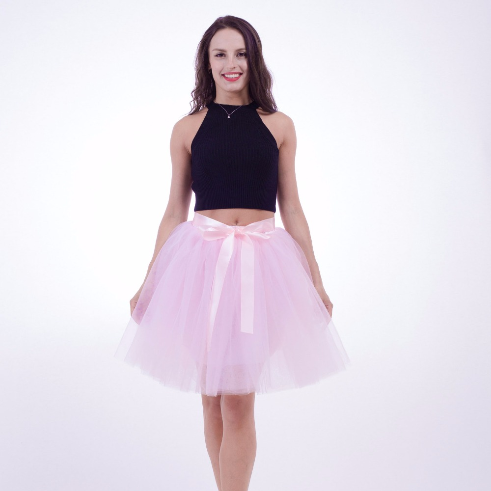 Cute themed photoshoot props nice looking pink adults tutu skirts for women