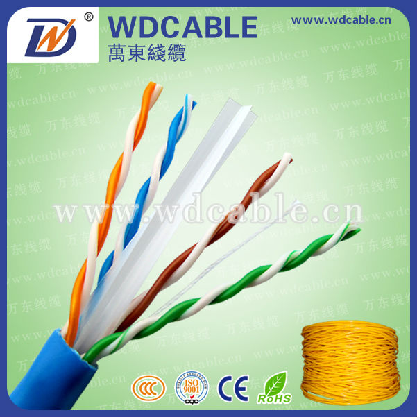 High quality d-link 23awg UTP cat6 lan cable