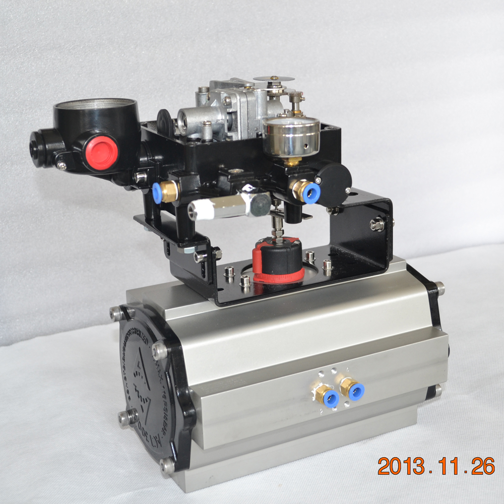 Cheap 3 way electric flow control valve with positioner