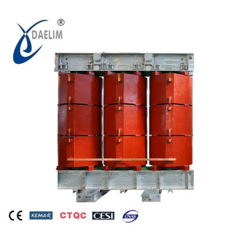 Three phase low-loss 35kv 800kva dry transformer sabstation 630kva
