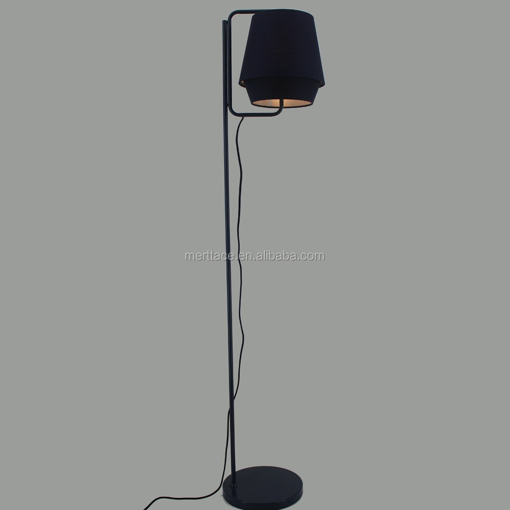 Home Night Light Led Standing Floor Lamp Elasticity usability fabric floor lamp