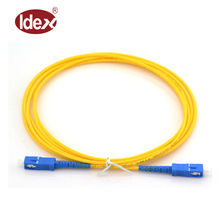 High quality single mode Lc Duplex Fiber Optic Cable For Network Solution And Project