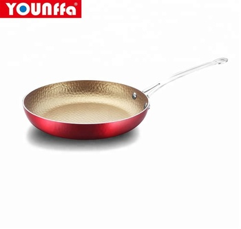 hot pans press aluminum non-stick honey comb frying pan