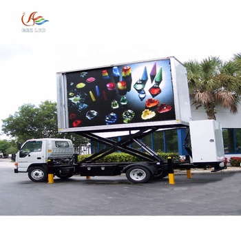 China supplier RGX Hd Full Color P6 Outdoor Mobile Led Video Truck/car/van Advertising Display Moving Led Display