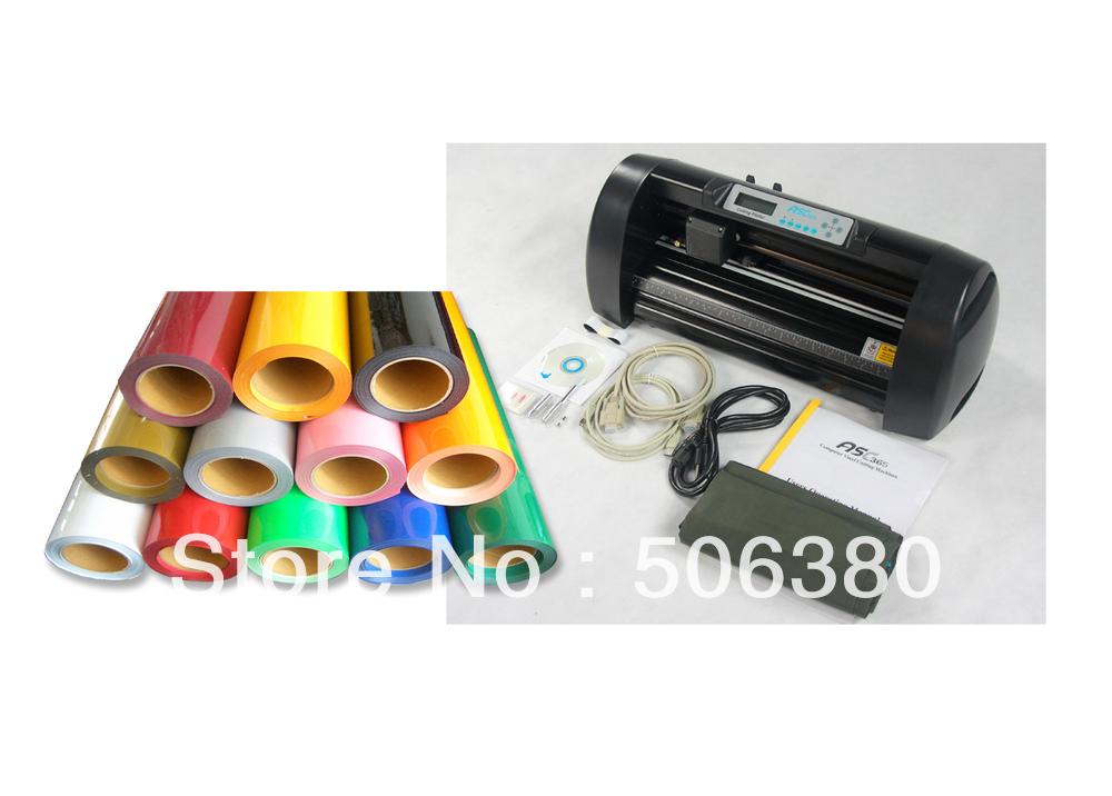 13-Cutting-Plotter-20-x10ft-PU-Heat-Transfer-Vinyl-T-shirt