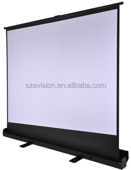 Floor pull up projector screen / Floor Standing screen