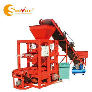 4-26 concrete block making machine/paver block making machine/ghana brick making machine for sale