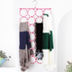 Popular Color Foldable 28 Rings Rope Tie Scarf Hanger