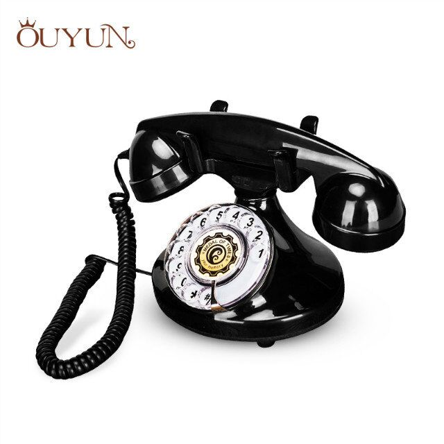 Home Telephone Vintage Rotary Phones Black Plastic Telephone - Buy Vintage  Rotary Phones,Home Telephone,Promotion Gift Product on Alibaba com