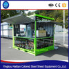Modern mobile container house coffee bar 40ft container shop booth food Kiosk cheap fashion simple container Sentry Box