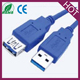 USB 3.0 A Male TO A Female Extension Cable Super Speed Blue Color Cord