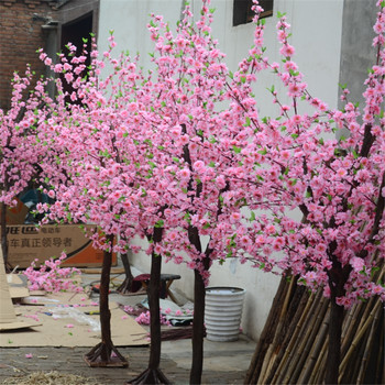 large outdoor artificial decorative tree /fake cherry blossom trees
