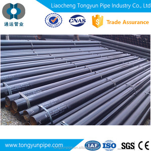MS ERW black round steel tube price /welded steel pipe/mild steel pipe Q195 A53 SS400 ISO certification