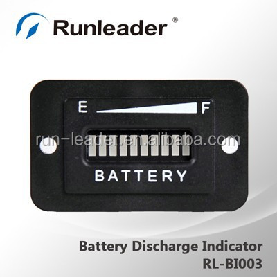 12V Battery Level Indicator For Golf Buggy Club Car Forklift Mobility Scooter
