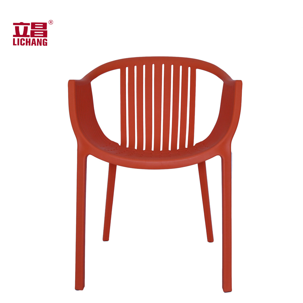Modern Indoor Outdoor Simple Plastic Dinning Chairs XRB-074