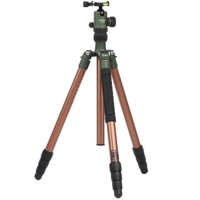 Fotopro 水平ミラープロアルミボールヘッドデジタル一眼レフカメラ旅行三脚
