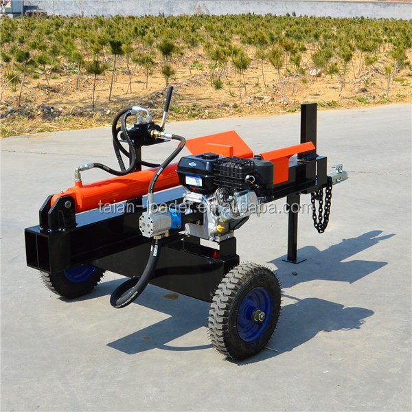 high efficiency smart Log Splitter, Powered by Gasoline with 4 way wedge cutting