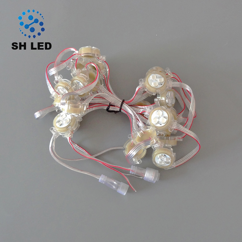 DMX 30mm ball led digital pixel point light source for decoration lighting