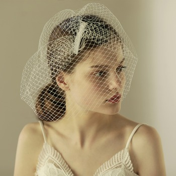 European Style Bridal Wedding Veil Vintage Bridal Bird Cage Veil ...