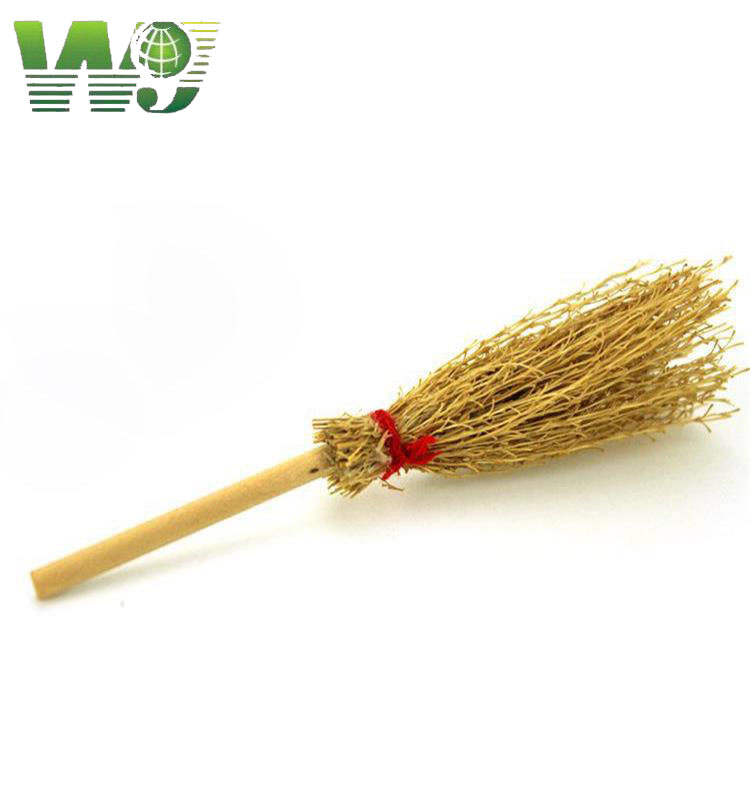 WY T-001 deep-set and durable bamboo broom for clean