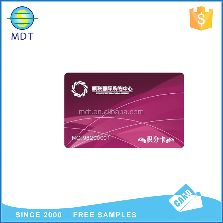 credit size facebook pvc id card