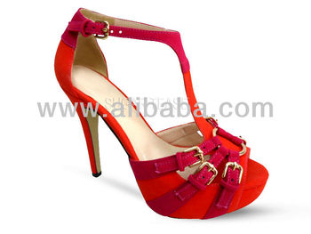a6153023d365f Sugar Tease Red Peep Toe - High Heel Shoes Wedding Formal Prom ...