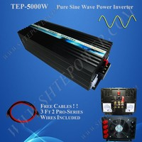 12vDC 120vAC Inverter 12V 220V 5000W Inverter DC To AC Power Inverter 5000W