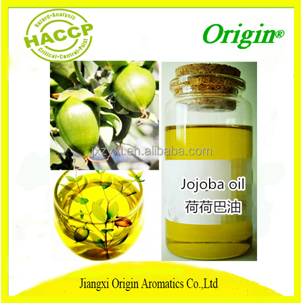 Best price 100% pure natural bulk packing fresh golden organic jojoba oil