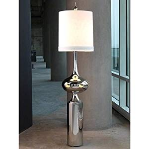 Contemporary Modern Stainless Steel Earthly Floor Lamp