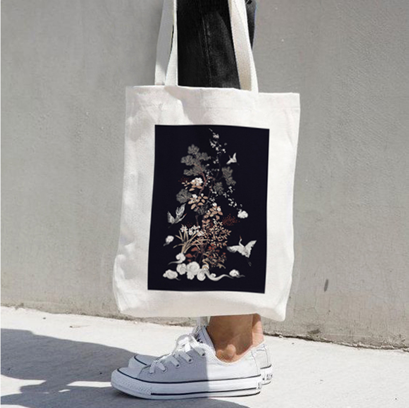 China professional company made cotton tote shopping bag
