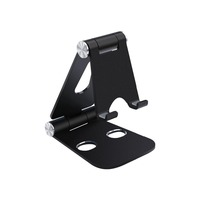 Foldable Adjustable Aluminum Stand Holder Bracket Kickstand for iPhone 7 6 Plus, Galaxy S8 S7 S6, iPads, Tablets, etc