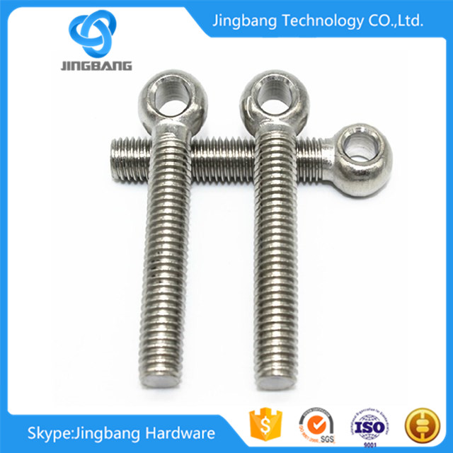 Top Quality Stainless Steel SUS304/316 Long ring bolts suppliers