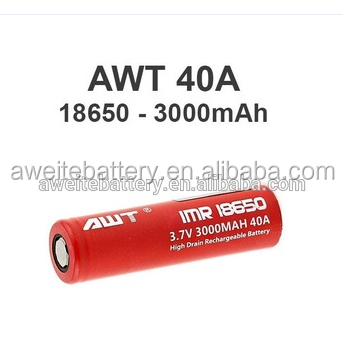 100% Authentic Awt 18650 40a 3000mah 3 7v Imr Battery For Philippines Vape  Rta Tank Best Vape Mod Vape Price Philippines - Buy Vape Price