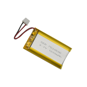 703050 3.7v 1200mah li-ion 4.44wh li-polymer battery