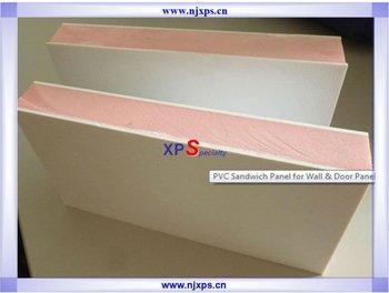 pvc panneau sandwich pour mur et la porte buy pvc panneau sandwich sandwich au prix du panneau. Black Bedroom Furniture Sets. Home Design Ideas
