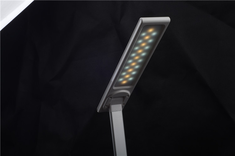 adjustable cold warm light table lamp qi wireless charger