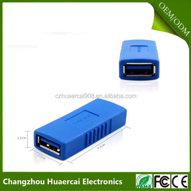 USB 3.0 Type A Female To Female Adapter Coupler Gender Changer Connector