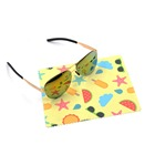 Eco-friendly and softly ever changing design printed microfiber goggle lens cleaning cloth