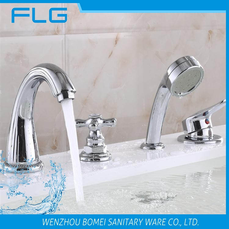 FLG 4 holes deck mounted bath faucet classic furniture upc faucet