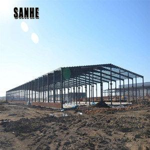 large span prefabricated building workshop warehouse multi story steel structure