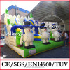 Guangzhou inflatable snow slide / inflatable slide for kids