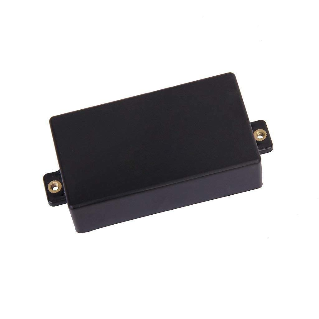 Lexiesxue New Black Plastic Sealed Humbucker Pickup Cover Shell For SQ ST Guitar Parts Sealed Humbucker Cover
